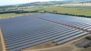Westmill Solar near Watchfield