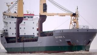 Esther C cargo ship