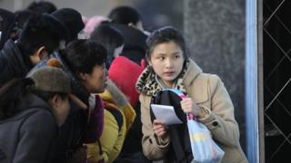 University entrance test in China