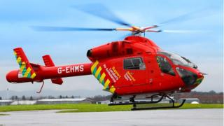 The new look London Air Ambulance