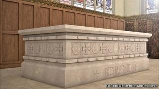 Richard III tomb design