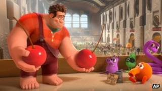 A scene from Wreck-It Ralph