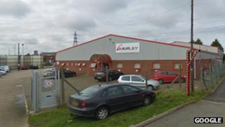 Merley warehouse in Corby