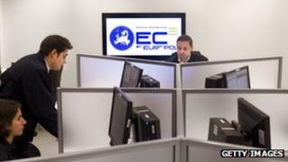 Europol cyber crime team