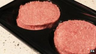 Burgers made in an Irish factory are being recalled