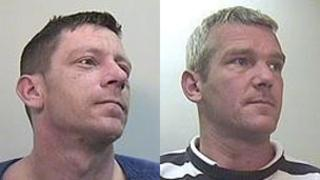 Michael Sutherland (L) and Steven Archibald (R)