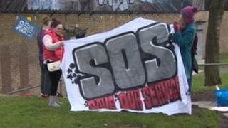 SOS march