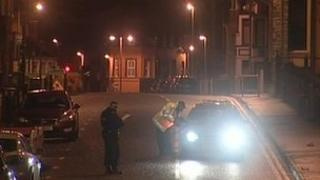 Officers stopped cars in Londonderry in the early hours of Saturday morning