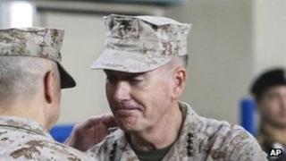 Gen Joseph Dunford, 10 Feb, Kabul