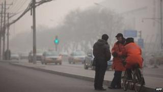Several cities in China have been recently shrouded in thick smog
