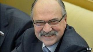 Vladimir Pekhtin, file picture