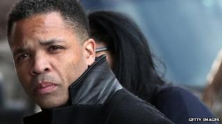 Former Rep Jesse Jackson Jr enters US District Court in Washington DC 20 February 2013
