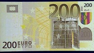 File image of 200 euro note