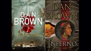 Inferno UK and US cover jackets