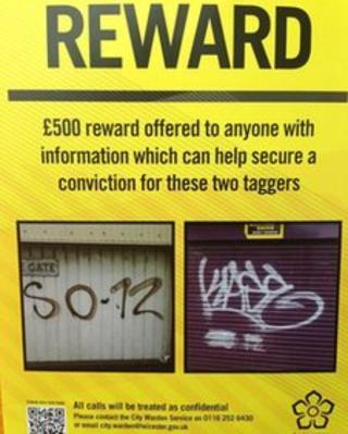 The reward poster
