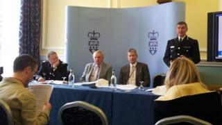 Police press conference pic