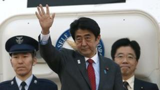 Shinzo Abe's US visit has sparked angry responses in China