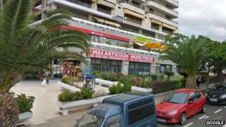 Supermarket in Los Cristianos