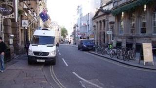 Corn Street Bristol