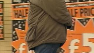 Fat man in Medway