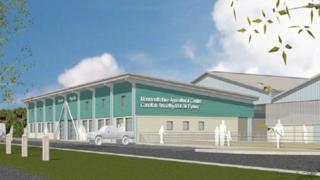Design of the new Abergavenny livestock marker
