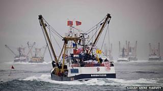 Brixham trawler Barentszee