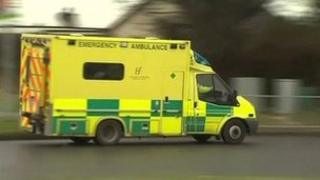 Irish ambulance