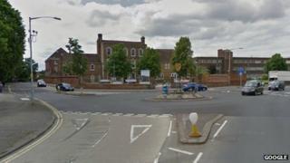 Harrow Market roundabout