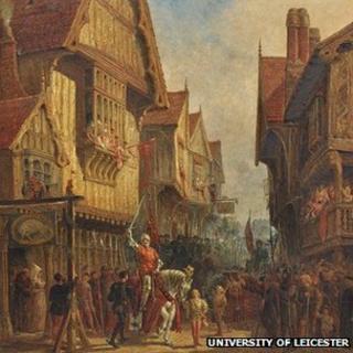 Richard III at the Blue Boar Inn by John Fulleylove