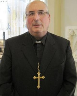 Archbishop Tartaglia is a temporary replacement as archbishop of St Andrews and Edinburgh