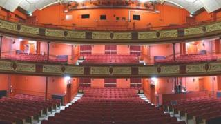 Park and Dare auditorium