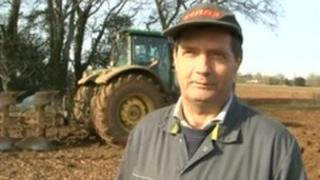 Nigel Mould who was seriously injured after he was run over by a faulty tractor
