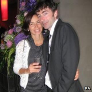 Joe Bampton and Suzanna Gyetvai