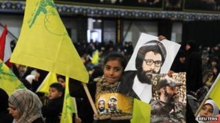 Hezbollah rally, Beirut