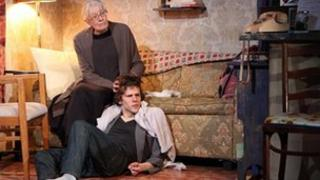 Vanessa Redgrave and Jesse Eisenberg in The Revisionist
