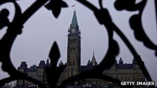 File photo of Parliament Hill, Ottawa, Canada