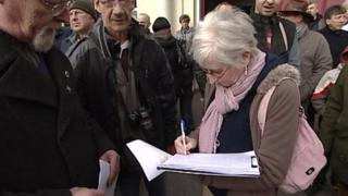 Axminster petition