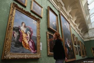 Baroque paintings from Sir Denis Mahon's collection - including The Rape of Europa by Guido Reni - at London's National Gallery