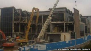 Demolition of Bournemouth IMAX