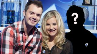 Blue Peter presenters Barney and Helen