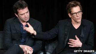 James Purefoy and Kevin Bacon