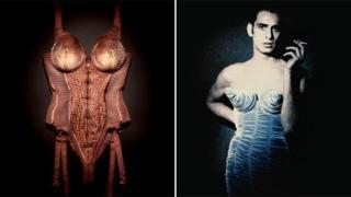 Gaultier's corsets