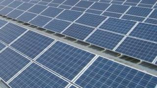 The solar panels in Ipswich
