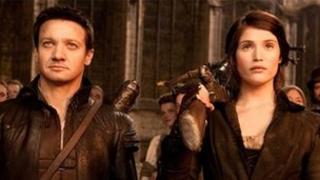 Jeremy Renner and Gemma Arterton in Hansel and Gretel: Witch Hunters