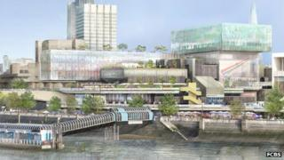 Plan for the Southbank Centre