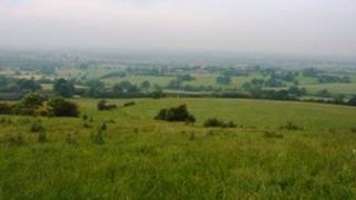 Land north of Bignall End