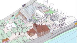 Tolly Cobbold brewery development