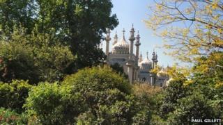 Brighton's Royal Pavilion Gardens