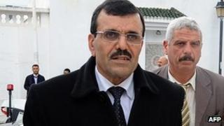 Tunisian Prime Minister-designate Ali Larayedh. 7 March 2013