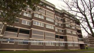 Flats in St Andrew's Drive, Glasgow